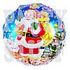 Воздушный шарик новогодний фольгированный, 44 см