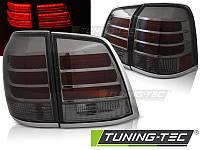 Фонари стопы тюнинг оптика Toyota Land Cruiser LC 200 стиль LX570
