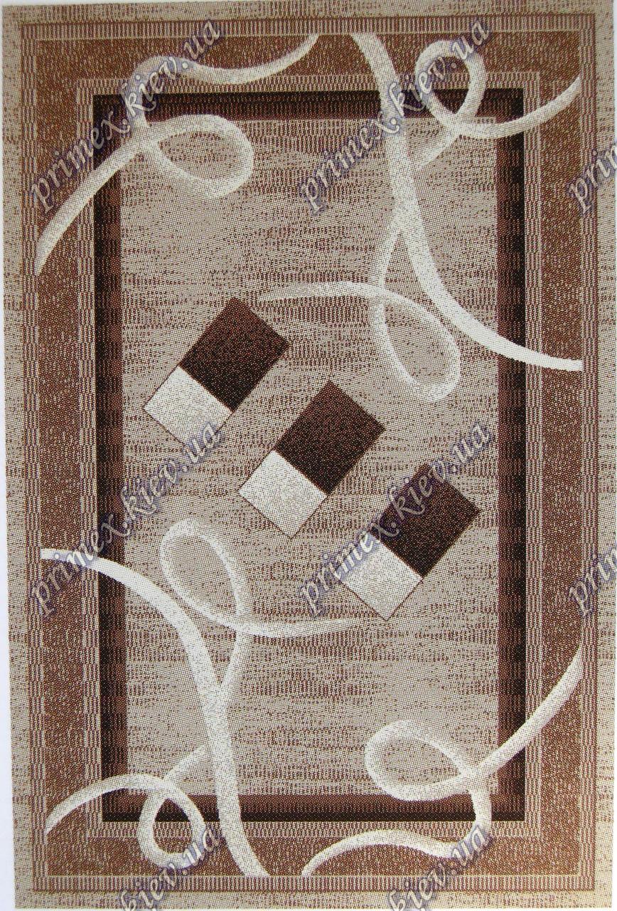 """Рельефный ковер Кадиллак """"Злата"""", цвет серо-сандаловый"""