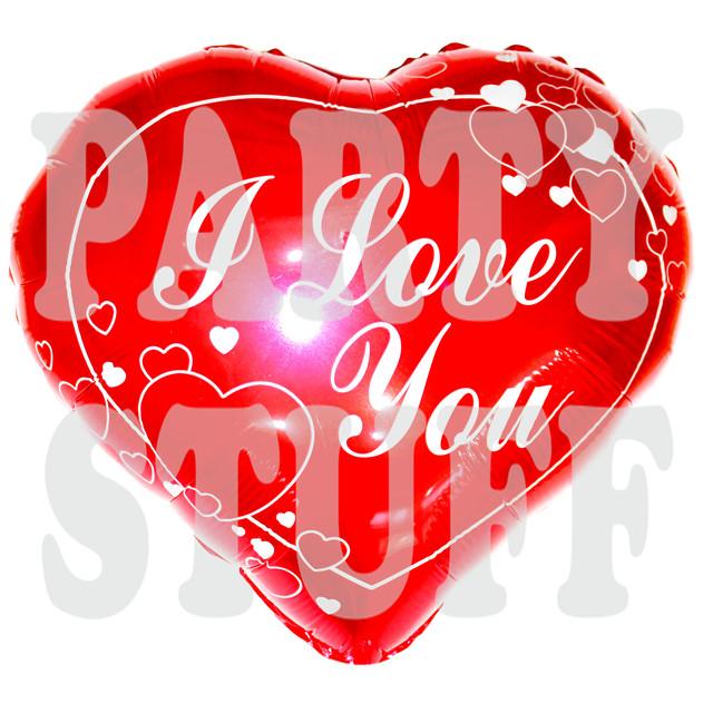 фольгированный воздушный шарик сердце