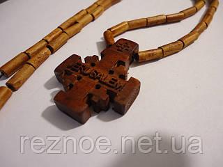 Нательный крест (иерусалимский)