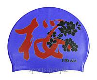 Шапочка для плавания Volna Sakura, силикон, разн. цвета