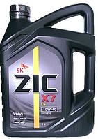 Моторное масло полусинтетика ZIC X7 LS 10w40 6л.