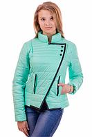 Куртка женская цвет мята 44 размер