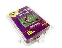 Сетка для бадминтона ZT Badminton net, размеры: 6*0,78 м, бордовый цвет