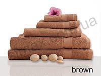 Полотенце махровое гладкокрашенное 50х90см