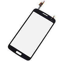Тачскрин Samsung G7102, G7105, G7106 Galaxy Grand 2 Duos черный (проклейка) Оригинал