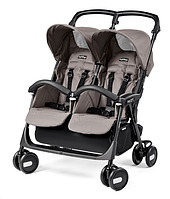 Детская прогулочная коляска для двойни Peg Perego Aria Shopper Twin 2017