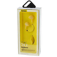 Наушники с микрофоном Remax 515-original