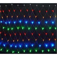 Гирлянда LED светодиодная Сетка 200 ламп микс