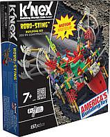 Американский моторизированный конструктор K'NEX Robo-Sting муха, фото 1