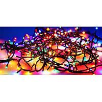 Гирлянда ламповая 300 ламп разноцветная