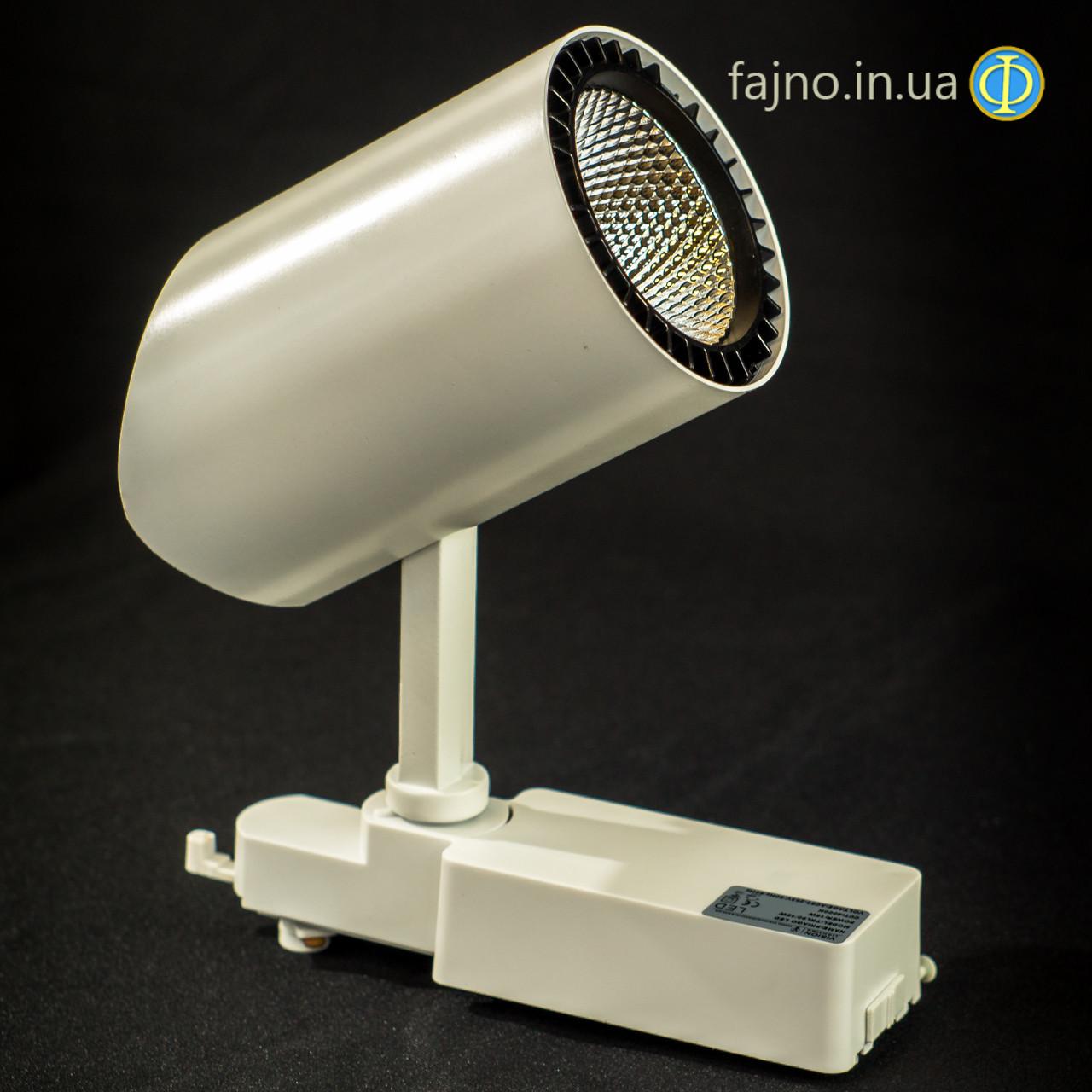 Додати фото, переробити текст та хар-ки Прожектор на шинопровод VISION ECOLED TRL-03030/30W LED