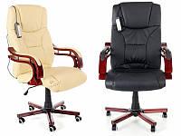 Кресло офисное + массаж Prezydent Calviano. Польша