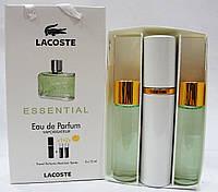 Наборы духов по 15мл 3шт Lacoste Essential