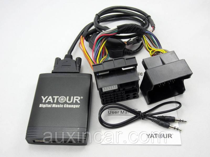 Флеш аукс адаптер Yatour YTM06-FRD2 new Ford quadlock Fakra 12 pin 6000CD 6006CDC 5000C