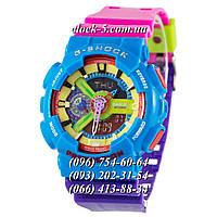 Часы мужские наручные Casio G-Shock MTG-1000 Blue-Black
