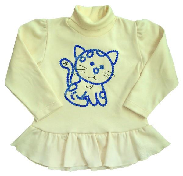 Туника для девочки Кошка