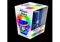 Magic Stars cвеча в стекле cо светодиодом