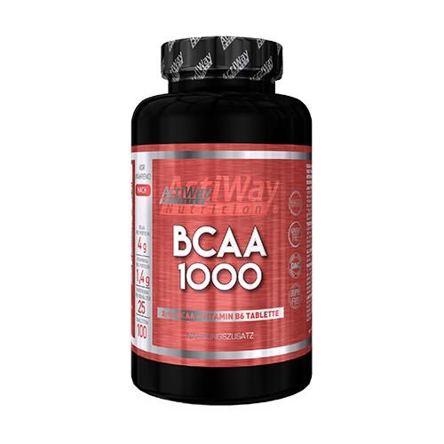 BCAA - Лейцин, Изолейцин, Валин ACTIWAY - BCAA 1000 (100 tabs)