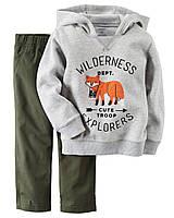 Костюм на мальчика 12-18-24 мес.: худи-пуловер, штаны Carter's