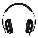 Навушники SVEN AP-940MV з мікрофоном чорно-біла гарнітура 4pin для смартфона + пк, фото 3