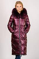 Зимнее женское длинное теплое пальто пуховик Zilanliya