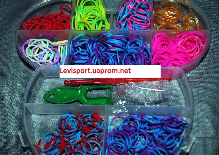 Набор резинок  для плетения Loom Bands 550 шт.