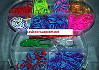 Набор резинок  для плетения Loom Bands 550 шт., фото 1
