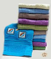Полотенце для лица и рук Квадрат-2 бирюзовый