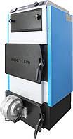 Угольный и дровяной котел Rocterm (Роктерм) стальной с автоматикой 18 кВт