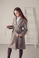 Стильное пальто 90% шерсть, фото 1