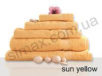 Полотенце махровое гладкокрашенное 100х150см