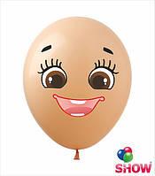 Наклейки лица для фигур из воздушных шариков