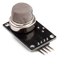 Модуль с датчиком газа MQ2 MQ-2 для обнаружения дыма и углеводородных газов. Для Arduino, AVR, PIC, ARM и др., фото 1