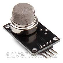 Модуль с датчиком газа MQ2 MQ-2 для обнаружения дыма и углеводородных газов. Для Arduino, AVR, PIC, ARM и др.