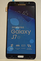 Дисплей Samsung J710 Galaxy J7 с сенсором Black оригинал , GH97-18855B