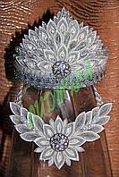 Корона и ожерелье VIP серебро