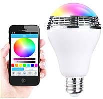 Лампа LED кольорова RGB з управлінням зі смартфона