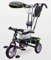 Детский трехколесный велосипед Caretero Derby Green