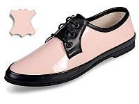 Оригинальные лакированные кожаные туфли МИДА 21430(294) 41