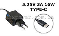 Зарядное устройство для планшета HP 5.25V 3A 16W TYPE-C ADP-15GW X2 210 PRO TABLET 608 G1