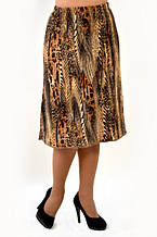 Юбка теплая по колено ангора вязка женская( Ю 457522)