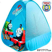 Шатер палатка Паровозик Томас, палатка паровоз Томас, палатка поезд Томас