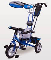 Детский трехколесный велосипед Caretero Derby blue