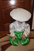 Детский карнавальный костюм Гриб Подосиновик белый, бледная поганка для мальчика - прокат Киев, Троещина