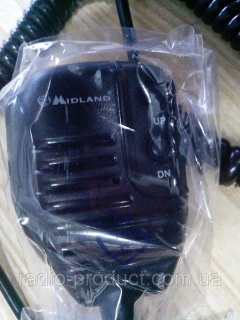 Микрофон, тангента Midland Alan MR-120 (малый) 48 Excell/48+/78+/Multi