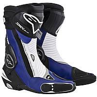 Мотоботы ALPINESTARS S-MX Plus черный синий белый 45