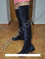 Стильные женские сапоги ботфорты
