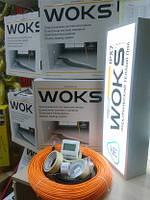 Економна тепла підлога Woks тонкий нагрівальний кабель 48м